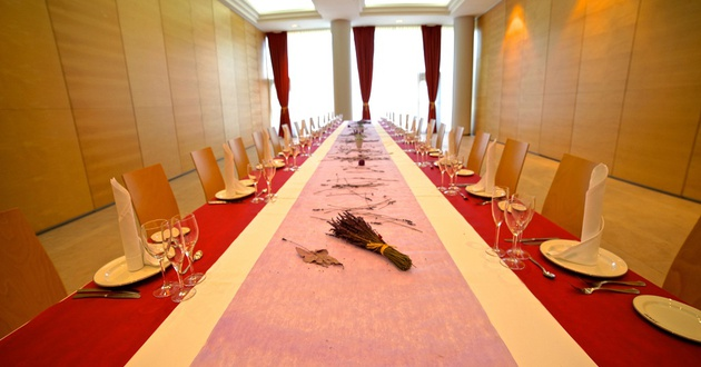 Golden Saal Hotel HLG CityPark Sant Just
